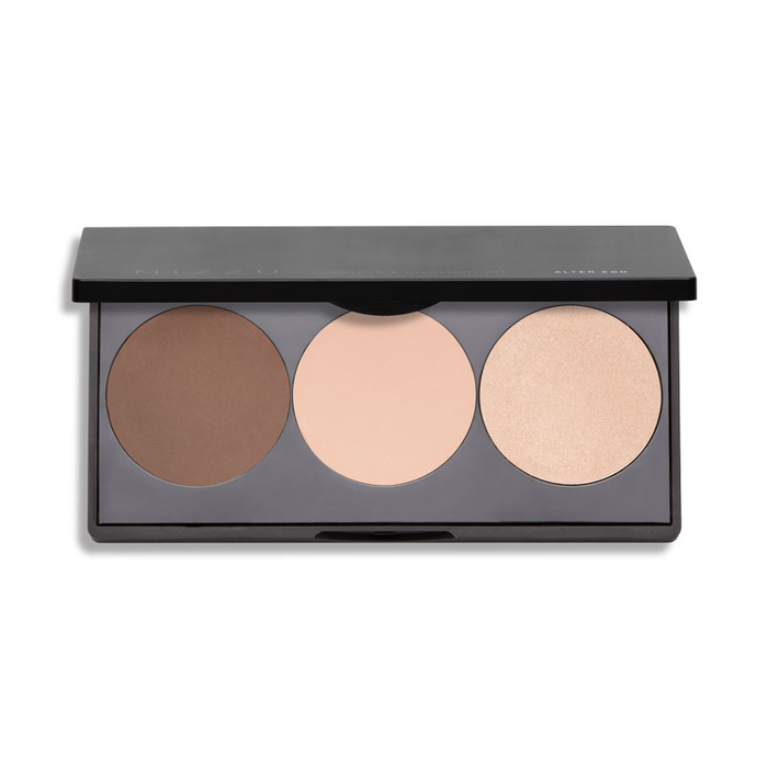 Mizzu Alter Ego Contour & Highlight Kit Rose Pallete