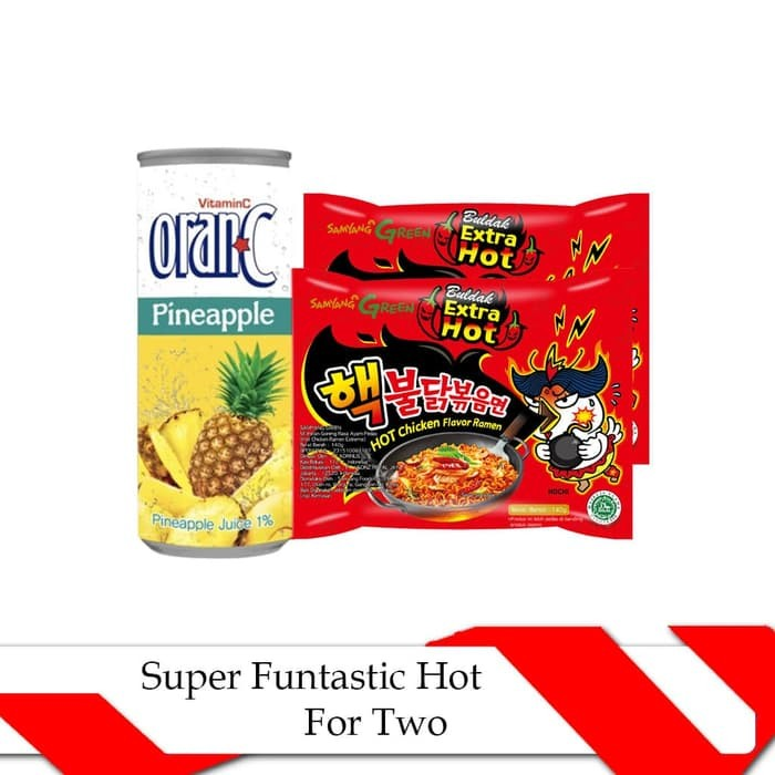 Super Funtastic Hot For Two