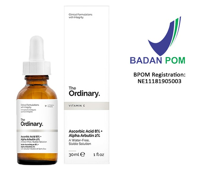 THE ORDINARY ASCORBIC ACID 8% + ALPHA ARBUTIN 2% (30ml)