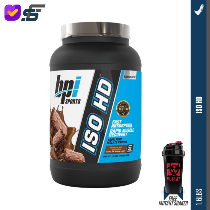 BPI ISO HD 1,6 lbs Whey Protein Isolate / BPI Iso 1,6lbs