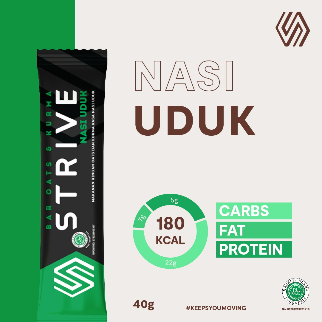 Strive rasa Nasi Uduk 1Box isi 6pcs