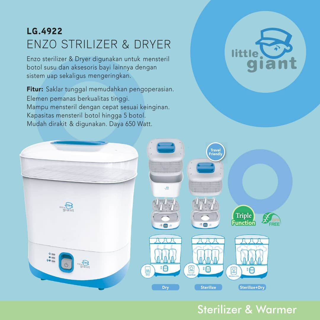 LG.4922 Enzo Electric Sterilizer & Dryer